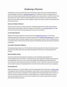 Cover letter for shadowing a doctor coursework help for Cover letter for shadowing a doctor