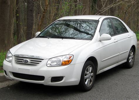 2007 Kia Spectra Photos, Informations, Articles