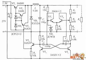 Separately Excited Switching Power Supply Circuit Diagram