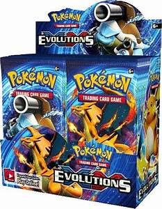Pokemon Trading Card Game XY Evolutions Booster Box 36 ...