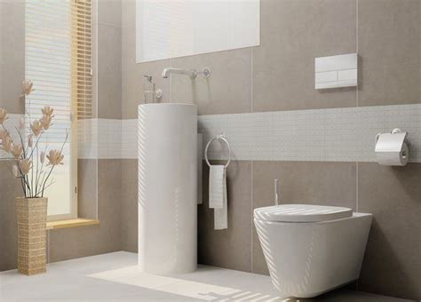 Badezimmer Fliesen Grau Badezimmer Modern Beige Grau
