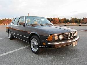 Bmw 7 Series 735i 1986 Technical Specifications