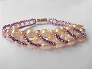 Comment Faire Un Bracelet En Perle : tutoriel bracelet de perles et perles de rocaille femme2decotv ~ Melissatoandfro.com Idées de Décoration