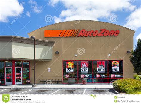 car parts usa uto zone car parts store editorial stock image image 40307284