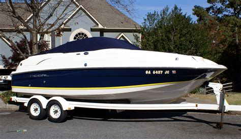 22 Deck Boat by 2005 Regal 22 Ft Deck Boat Incl Trailer The Hull