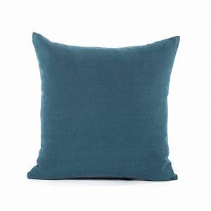 26x26 solid navy big european sham pillow cover With big euro pillows