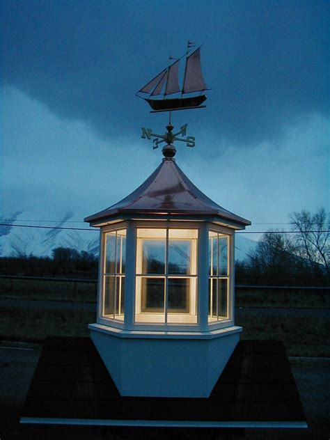 a cupola put a light kit in your cupola cupolas in 2019 barn