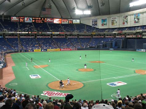 Minnesota Twins vs. Detroit Tigers at the Metrodome