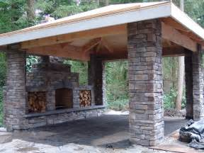 Outdoor Fireplace Patio Stone Covered Patio Outdoor Patio Chimney Fire Pit Types