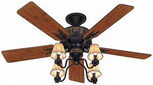 Rustic Ceiling Fans With Lights Ceiling Lighting