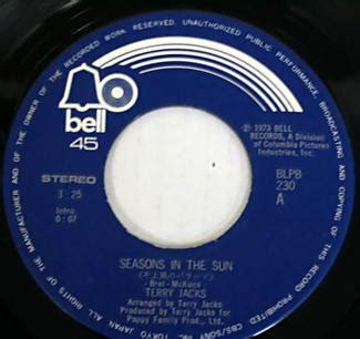 Seasons In The Sun Wikipedia