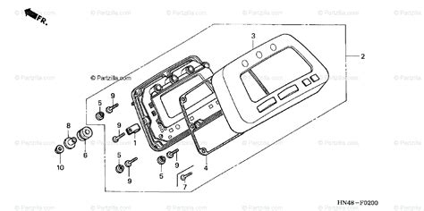 Honda Atv Oem Parts Diagram For Meter Partzilla