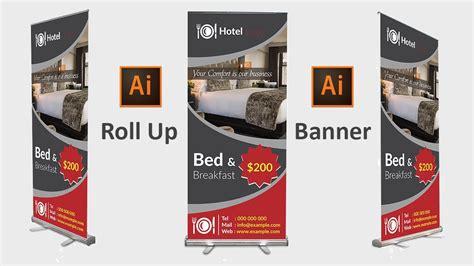 design  roll  banner  adobe illustrator cc