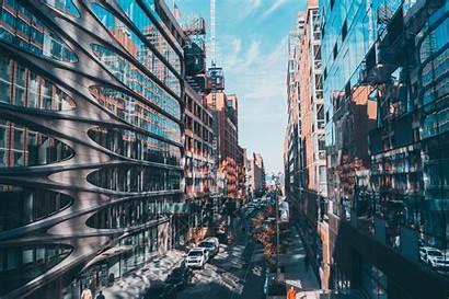 Architecture Street York Desktop Backgrounds Wallpapers Reflection