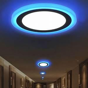 Led Lampe Rund : led panel deckenleuchte einbauleuchte einbaustrahler lampe licht rund quadrat ebay ~ Frokenaadalensverden.com Haus und Dekorationen
