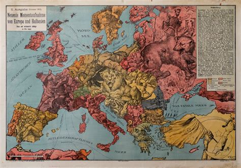 Lonely planet photos and videos. Map of the Day: Europe from Germany's Perspective One Year into WWI - The Sounding Line