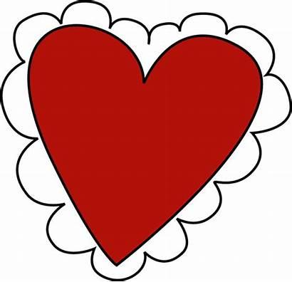 Valentine Clip Heart Valentines Clipart Cliparts Happy