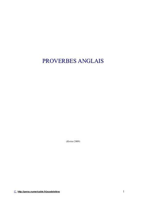 si鑒e social en anglais proverbes en anglais