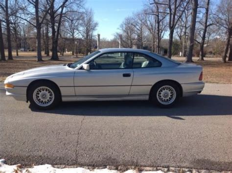 free car manuals to download 1992 bmw 8 series spare parts catalogs sell used 1992 bmw 850ci 6 speed manual v12 clear title clear carfax 65k miles in