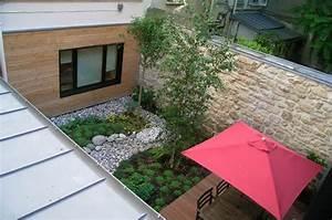 Cour De Maison : transformation local commercial en habitation paris maison de ville en bois ~ Melissatoandfro.com Idées de Décoration