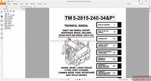 Cummins V903c Technical Manual
