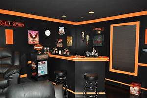 harley davidson themed theater With kitchen cabinets lowes with harley davidson wall art
