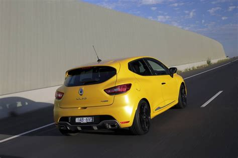 Renault Clio Rs 200 Edc On Sale In Australia From