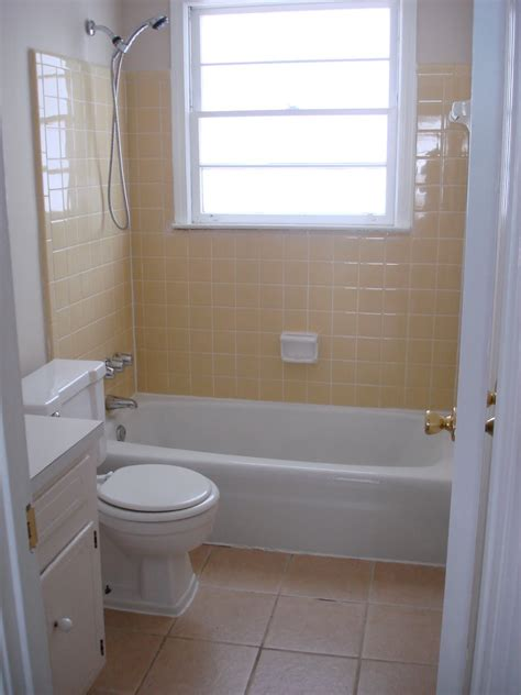 it s not rocket science rip yellow bathroom tile or the second bathroom gets the hammer
