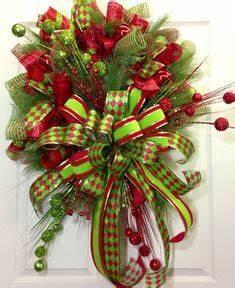 Christmas Mesh Wreaths on Pinterest