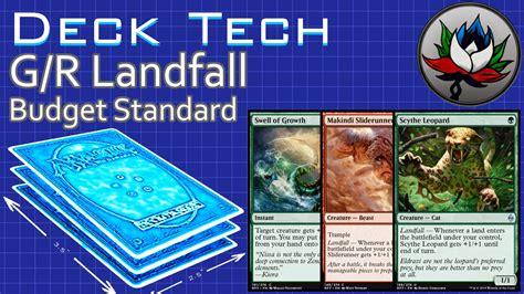g r landfall budget aggro standard deck tech battle