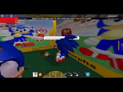 roblox new sonic rp back new things