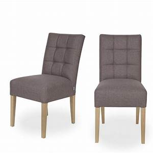 Chaise Capitonnée Grise : chaise capitonn e gris anthracite pauwel par ~ Teatrodelosmanantiales.com Idées de Décoration