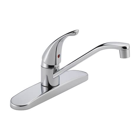 delta kitchen faucets delta faucet p110lf single handle kitchen faucet