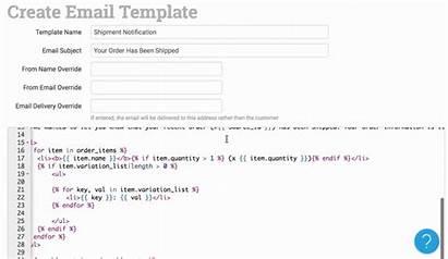 Dropship Email Template Split Line Order Vendors