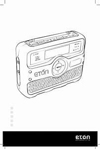 Eton Fr800 User Manual