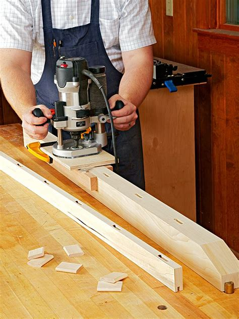 loose tenon joinery  clever router jig