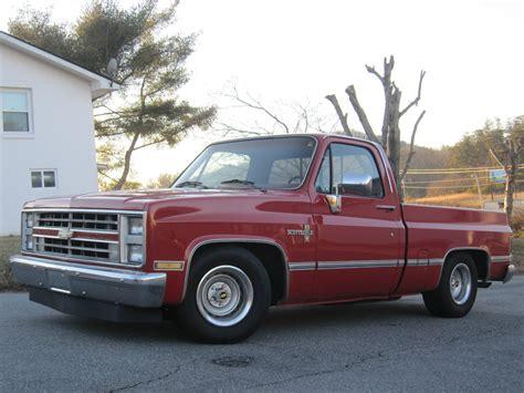 1985 Chevrolet Truck by 1985 Chevrolet Silverado 1500 C K 1500 2wd Shortbed Quot Rat