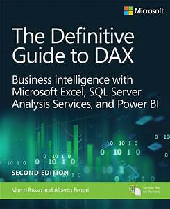 Definitive Guide To Dax  The  Business Intelligence For