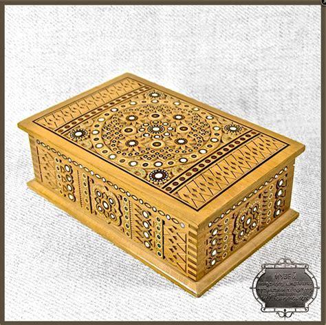 carved wooden box ukraine  iryna  love