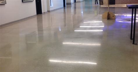 polished floors at at t center the concrete network