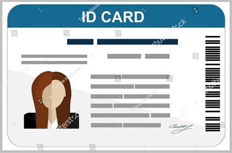 professional id card designs psd eps ai word