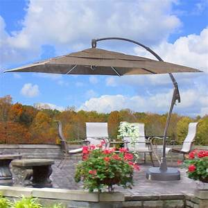 Gallery patio umbrellas sunbrella home interior desgin for Costco patio umbrella cover