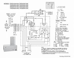 Thermostat Wiring Diagram Trane Baysens135a Model