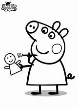 Pig Peppa Birthday Coloring Pages Colouring Bratz Pepa Barometer Drawing Template Books Dora George Imprimir Svg Face Silhouette Quote Boys sketch template