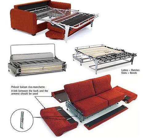 canapé lit confort le convertible pour couchage quotidien par home spirit