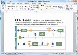 Bpmn Diagram Templates For Word