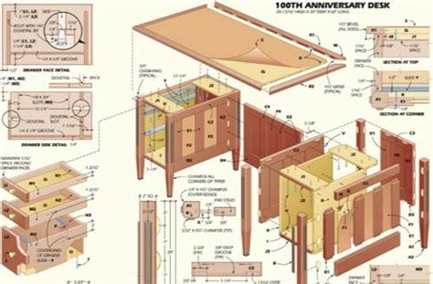 executive desk plans home furniture design