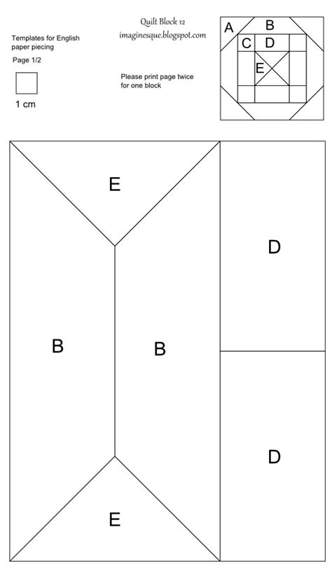 pattern block templates imaginesque quilt block 12 pattern and template