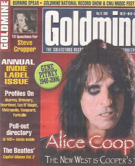 oldmags com Goldmine May 12 2006 Product Details