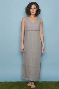 robe en lin longue With robe d été en lin